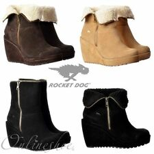 Rocket Dog Mid Heel (1.5-3 in.) Faux Suede Boots for Women