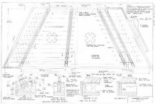 Hammered Dulcimer 12/11 construction  Plans   actual size - Full scale   detaile