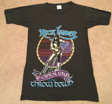Vintage 1982 Rick James Throw Down In Capital Town Single Stitch T Shirt Large