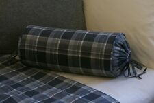 NEW Custom Ralph Lauren Holden Neck Roll Pillow Neckroll Plaid