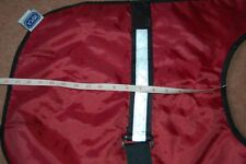 New RSPCA Small Large Water Resistant Dog Coat Faux Shearling Lined Reflective