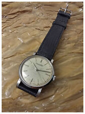 MEN'S IWC VINTAGE CLASSIC WATCH, HAND WINDING 35 MM stainless steel, CAL. 89
