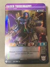 Transformers TCG Wave 3 Uncommon Raider Triggerhappy