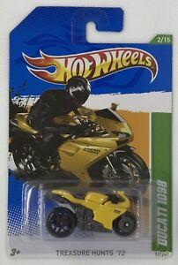 2012 Hot Wheels Treasure Hunts Series Ducati 1098 Limited Edition Rare