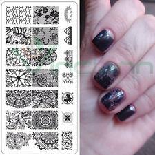 Stampo Lace stampino decorazione stencil decori decoro unghie unghia nail art