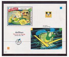 St Vincent 1992 películas de dibujos animados de Walt Disney, el arte de esquí-ms-U/M