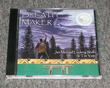 Breath Maker Jan Michael Looking Wolf Tim Yett~RARE Native American Indian Flute