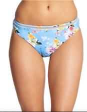 Nanette Lepore Womens Monaco Charmer Blue Swim Bottom Separates M BHFO 8444