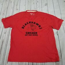"Chicago Blackhawks CCM /""Hit The Post/"" NHL Distressed Men/'s Premium T-Shirt"