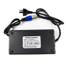 24 Volt 7 Amp for Mobility Scooter Battery Charger 24v 7a Connect and Forget