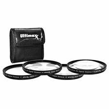 Ultimax 58mm 4PC HD Macro Close-Up Lenses Fits all Digital & Video Cameras New