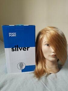 Brand NEW in Box Pivot Point DIANE Mannequin Head 100% human hair