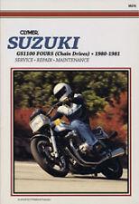CLYMER REPAIR MANUAL Fits: Suzuki GS1100E