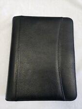 Franklin Covey Classic Sim Pebble Leather Zip Binderorganizerplanner Fc Cl1