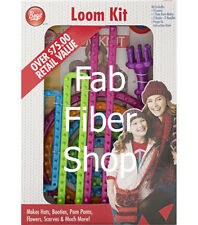 Boye 9+ Assorted Loom Set includes 5 Round 1 Specialty 3 Long Looms + more