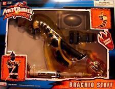 Power Rangers Dino Thunder BRACHIO STAFF Factory Sealed New 2003