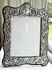 BIG 11  VINTAGE STERLING SILVER PICTURE FRAME ORNATE REPOUSSE ENGLAND