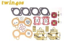 Dellorto DHLA 40 Service Overhaul Gasket KIT FOR TWO CARBS carburettor