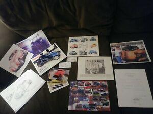 Chuck Finders Miscellaneous Memorabilia LOT Racing Racer Autograph