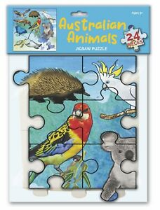NEW: Aussie Animals : 24 Piece Jigsaw (Children's Puzzle 3+)