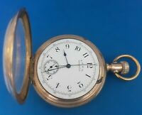 Waltham,Size 14, Chronograph Pocket Watch.FREE 3 DAY PRIORITY SHIPPING.