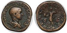 PHILIPPE II Sesterce PRINCIPI IVVENT SC +245  ROME