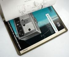 Elektronische Messgeräte Grundig die 50er Jahre