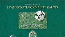 1998 San Marino Libretto Mondiali Calcio Francia 98 FIFA Timbro primo giorno