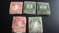 Eire Ireland Stamps Holy Year, Map, X 5 Stamps, Irish #5