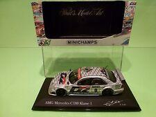 MINICHAMPS  MERCEDES BENZ C180  DTM 1995 1996 No 8 - D2 ELLEN LOHR  - 1:43 NMIB