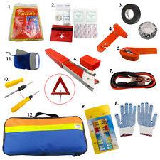 12x Emergency Breakdown Road Safety Kit Vehicle Car Van Caravan Warning Triangle