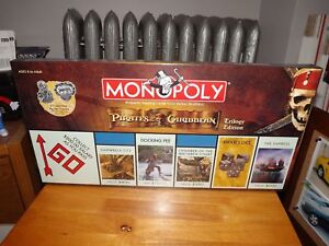 PIRATES OF THE CARIBBEAN TRILOGY EDITION MONOPOLY GAME, NEW, SEALED, 2007