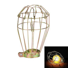 1pc Iron Wire Bulb Guards Clamp Metal Lamp Cage Retro Trouble Light Parts Xed~OJ