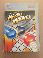 NINTENDO NES MARBLE MADNESS BOXED  INST PAL A FREE UK POSTAGE