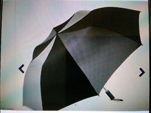 Umbrella - Weather Station Umbrella 56MB Gray & Black, Brand New w/Tags.