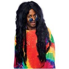 Jamaican Rasta Wig Costume Accessory Long Black Dreadlock Braids
