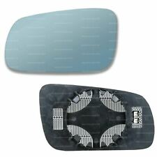 Right hand driver side for VW Bora 1998-05 Flat heated wing mirror glass plate