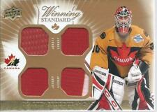 2015-16 UD Team Canada Master Collection MARTIN BRODEUR Winning Stand. Jersey