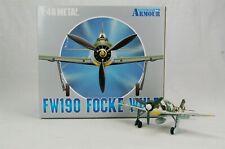 Armour FW190 Focke Wulf Luftwaffe Diecast Metal Plane 1:48 #98044