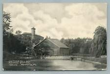 Knitting Mill & Pumping Station NEWVILLE Pennsylvania~Antique Cumberland County