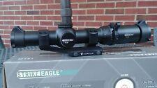 Vortex Strike Eagle 1-6x24 Rifle scope. With Viper mount & throw lever.