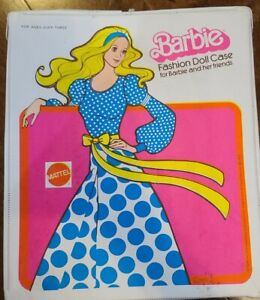 Vintage 1975 Barbie Fashion Doll Case for Barbie and her Friends By MATTEL