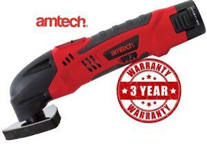Multi tool oscillating cordless rechargeable 10.8V Li-ion  cutter sander grinder
