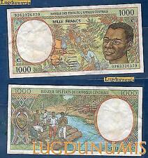 Afrique Centrale - 1000 Francs type 1991 -1993 Sign 15 C Congo Numéro 9363326379