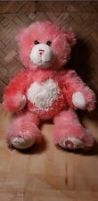 """""""Kisses For You� Build A Bear Pink Teddy Bear With Magnetic Paws"""