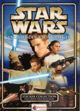 Star Wars 2 Attack of the Clones über 50 Sticker/Sammelbilder von Merlin * topps