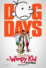 DIARY OF A WIMPY KID  DOG DAYS ADVANCE PROMOTIONAL MOVIE POSTER 2012