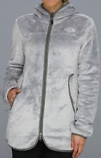The North Face Osito Parka Hooded Fleece Jacket Women High Rise Grey S New $149
