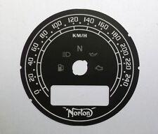 Lockwood NORTON comando 961 Café Racer Quadrante nero KIT di conversione C944