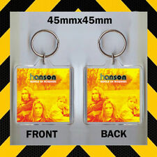 HANSON BROTHERS - MIDDLE OF NOWHERE - CD COVER KEYRING